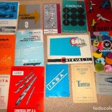 Catálogos publicitarios: LOTE DE CATALOGO LISTA DE PRECIOS DE VARIAS CASAS COMERCIALES ANTIGUAS. Lote 82974244