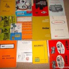 Catálogos publicitarios: LOTE DE CATALOGO LISTA DE PRECIOS DE VARIAS CASAS COMERCIALES ANTIGUAS 2. Lote 82974312