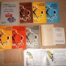 Catálogos publicitarios: LOTE DE CATALOGO LISTA DE PRECIOS DE VARIAS CASAS COMERCIALES ANTIGUAS 3. Lote 82974372