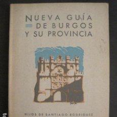 Catálogos publicitarios: BURGOS Y PROVINCIA - GUIA -AÑO 1938 -VER FOTOS-(V-10.592). Lote 83305468