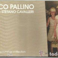 Catálogos publicitarios: CATALOGO DE MODA I PINCO PALLINO VERANO 2006 --REFM1E3. Lote 85164776