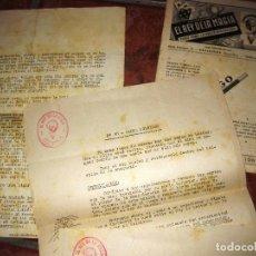 Catálogos publicitarios: CATALOGO Y 6 TRUCOS ESTABLECIMIENTO EL REY DE LA MAGIA . BROMAS ILUSIONISMO PRESTIDIGITACION. Lote 219079767