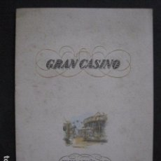 Catálogos publicitarios: TARRASA -TERRASSSA - AÑO 1946- GRAN CASINO - VER FOTOS- (V-10.852). Lote 85526960