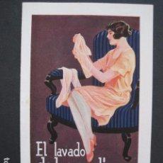 Catálogos publicitarios: CATALOGO PUBLICIDAD EL LAVADO DE LAS MEDIAS CON PERSIL -VER FOTOS-(V-10.908). Lote 86051412