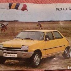 Catálogos publicitarios: CATALOGO DE RENAULT 5 1977. Lote 86163052