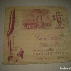 Catálogos publicitarios: CASA LLIBRE , SALON DE TE . TEMPORADA 1947-48. Lote 86540532