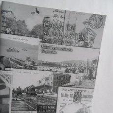 Catálogos publicitarios: CATALOGO DE CASA DE SUBASTAS DE BARCELONA SUBASTA EXTRAORDINARIA DE POSTALES 17 D MAYO DEL AÑO 2000. Lote 88364264
