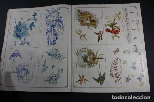 Catálogos publicitarios: PRECIOSO Y MUY RARO CATALOGO ALBUM DECORACIONES PARA ARTICULOS ESMALTADOS, JAPY FRERES 1897, RELOJ - Foto 4 - 88778200