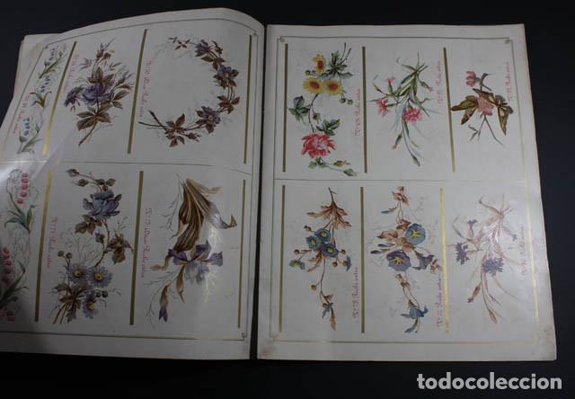 Catálogos publicitarios: PRECIOSO Y MUY RARO CATALOGO ALBUM DECORACIONES PARA ARTICULOS ESMALTADOS, JAPY FRERES 1897, RELOJ - Foto 5 - 88778200
