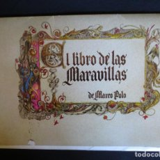 Catálogos publicitarios: COLECCION 10 LAMINAS DEL LIBRO DE LAS MARAVILLAS DEL MUNDO DE MARCO POLO. Lote 89055940