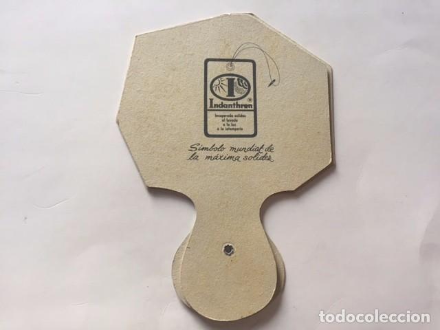 Catálogos publicitarios: PAY PAY PUBLICIDAD desplegable años 1980,anuncio marca Indanthren - Foto 4 - 89859880