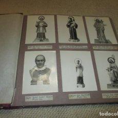 Catálogos publicitarios: CATÁLOGO FÁBRICA DE IMÁGENES RELIGIOSAS CON 150 FOTOS Y TAMAÑOS, RARO, OLOT ? NACIMIENTO BELÉN. Lote 92778345
