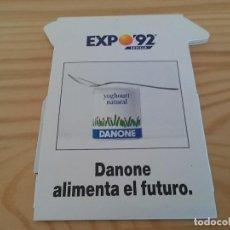 Catálogos publicitarios: PLANO EXPO92 DANONE. Lote 93701620