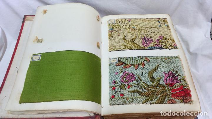 Gran y antiguo catalogo de telas bordadas para comprar - Telas de tapiceria online ...