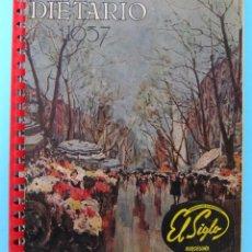 Catálogos publicitarios: DIETARIO PARA 1957. GRANDES ALMACENES EL SIGLO, BARCELONA.. Lote 94805199