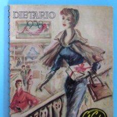 Catálogos publicitarios: DIETARIO PARA 1958. GRANDES ALMACENES EL SIGLO, BARCELONA.. Lote 94805695