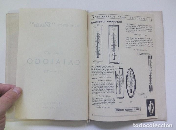 Catálogos publicitarios: Catálogo publicitario Termómetros Daniel Barcelona - Foto 3 - 95137999