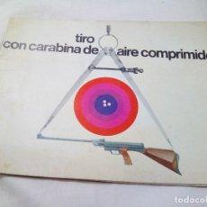 Catálogos publicitarios: CATALOGO GAMO TIRO CON CARABINA DE AIRE COMPRIMIDO. Lote 95471979