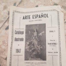 Catálogos publicitarios: ARTE ESPAÑOL JULIÁN CRISTOBAL CATALOGO. Lote 96026992