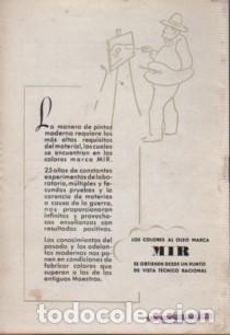 Catálogos publicitarios: CATALOGO D. PUIGDENGOLAS BODAS DE PLATA FABRICA DE PINTURAS mir garvi mil - Foto 2 - 96445203