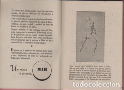 Catálogos publicitarios: CATALOGO D. PUIGDENGOLAS BODAS DE PLATA FABRICA DE PINTURAS mir garvi mil - Foto 4 - 96445203