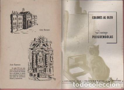 Catálogos publicitarios: CATALOGO D. PUIGDENGOLAS BODAS DE PLATA FABRICA DE PINTURAS mir garvi mil - Foto 5 - 96445203