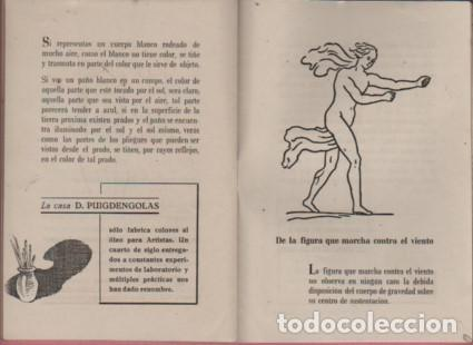 Catálogos publicitarios: CATALOGO D. PUIGDENGOLAS BODAS DE PLATA FABRICA DE PINTURAS mir garvi mil - Foto 6 - 96445203