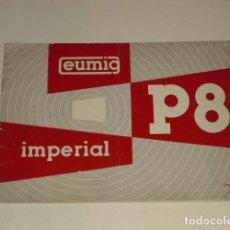 Catálogos publicitarios: CATÁLOGO EUMIG IMPERIAL P8 -. Lote 97235555