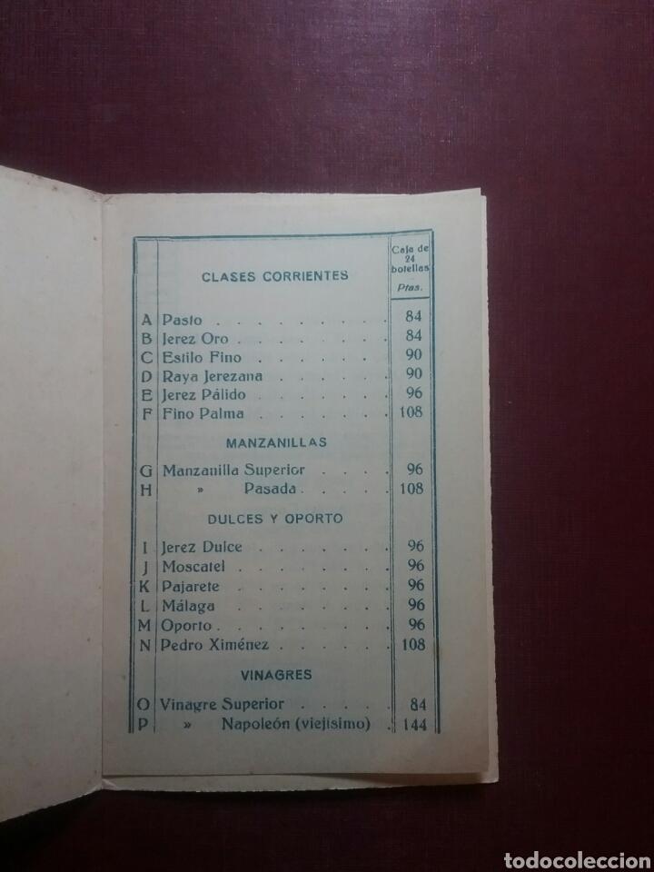 Catálogos publicitarios: Catálogo de Vinos de Xerez CZ.(J.M.RIVERO). - Foto 2 - 97805356