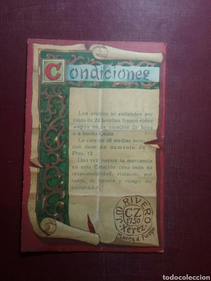 Catálogos publicitarios: Catálogo de Vinos de Xerez CZ.(J.M.RIVERO). - Foto 3 - 97805356
