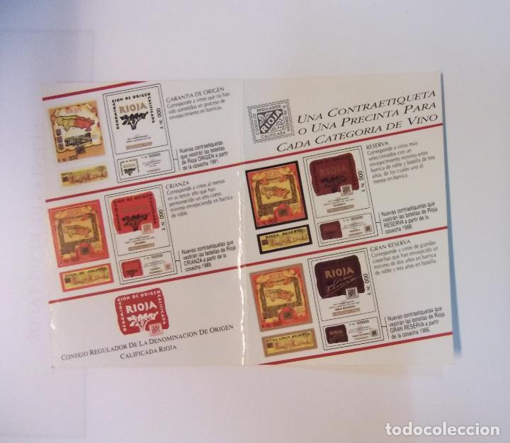 Catálogos publicitarios: TARJETA PUBLICITARIA BODEGAS REY DE VIÑAS LOGROÑO. LA RIOJA. TDKP12 - Foto 3 - 98345995