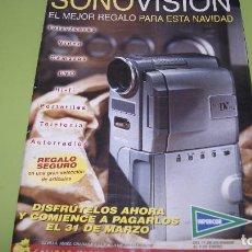 Catálogos publicitarios: CATALOGO SONOVISION DE HIPERCOR AÑO 90. Lote 98574503