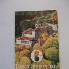 Catálogos publicitarios: CALENDARIO CALIFICACION DE AÑADAS DE LOS VINOS DE LA DOC RIOJA. BANCO GUIPUZCOANO. TDKP12. Lote 98586535