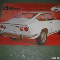 Catálogos publicitarios: CATALOGO SEAT 850 SPORT. Lote 99223135