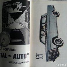 Catálogos publicitarios: CATÁLOGO GENERAL DE AUTOMÓVILES DEL AÑO 1959,EDITORIAL ROMERO REQUEJO S.L. MADRID. Lote 99436375