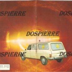 Catálogos publicitarios: PEQUEÑO CATÁLOGO PUBLICIDAD, LABORATORIOS MADE, 1977. Lote 99958979