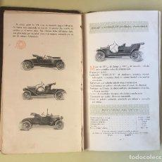 Catálogos publicitarios: CATALOGO AUTOMOVILES BERLIET- LYON 1.911. Lote 100045775