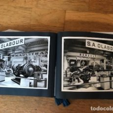 Catálogos publicitarios: CATALOGO FOTOGRAFIAS EMPRESA AERONAUTICA S.A OLABOUR. Lote 100233707