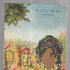 Catálogos publicitarios: FOLLETO PUBLICITARIO. VALENCIA. IMAGENES DE S.DURA. VER. CON GUIA BREVE DEL TURISTA. Lote 100506139