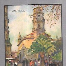 Catálogos publicitarios: FOLLETO PUBLICITARIO GEOGRAFICO. VIAJERO. MALLORCA. CON 16 IMAGENES. VER. Lote 100508415