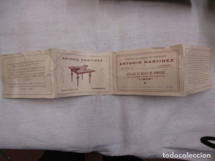 logroño - antonio martinez - fabricante de mesa - Comprar Catálogos ...