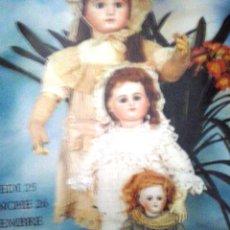 Catálogos publicitarios: TEMATICO JUGUETES Y MUÑECAS ANTIGUAS. Lote 101404055