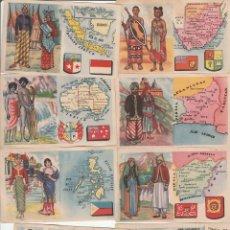 Catálogos publicitarios: LOTE DE 9 CROMOS DE CEREGUMIL-FERNANDEZ Y CANIVELL, S.A-MALAGA. Lote 101768879