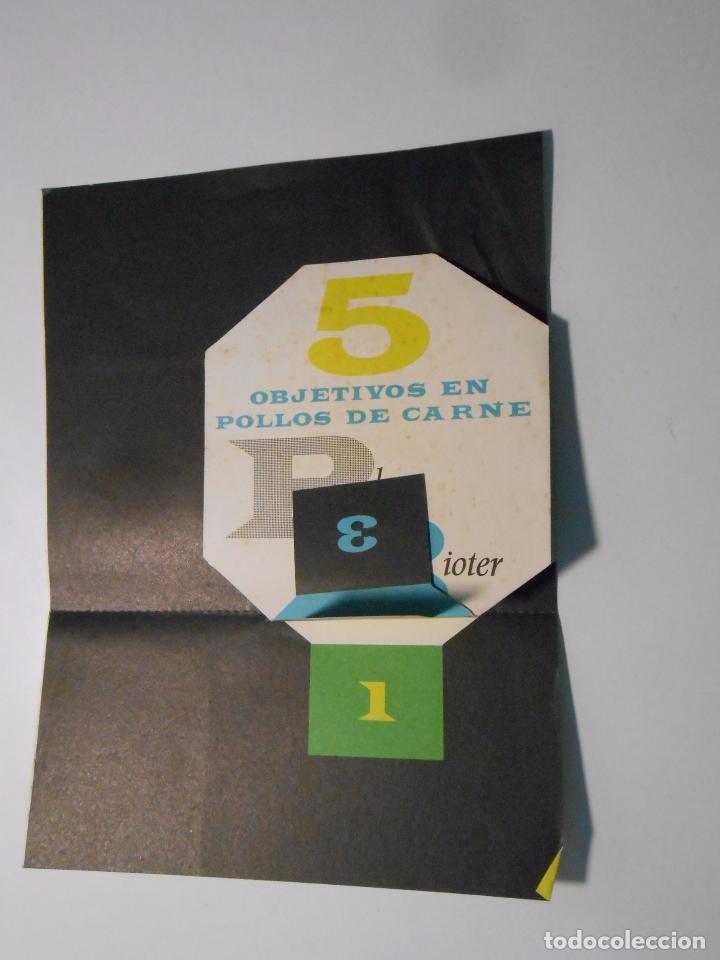 Catálogos publicitarios: HOJA PUBLICITARIA BIOTER. PIENSOS ALIMENTACION PARA AVES. MADRID 1961. TDKP2 - Foto 2 - 101924451