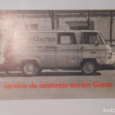 Catálogos publicitarios - FOLLETO PUBLICITARIO SERVICIO DE ASISTENCIA TECNICA GARZA. TDKP2 - 101930003