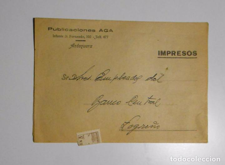 CATALOGO DE PRECIOS PUBLICACIONES AGA. INFANTE D. FERNANDO. ANTEQUERA MALAGA. 1953. TDKP2 (Coleccionismo - Catálogos Publicitarios)