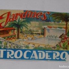 Catálogos publicitarios: FOLLETO PUBLICITARIO JARDINES TROCADERO. TDKP2. Lote 101988075