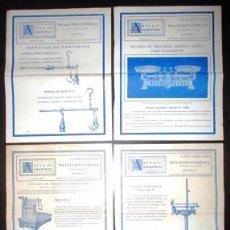 Catálogos publicitarios: PUBLICIDAD DE BÁSCULAS Y BALANZAS DE TORNER Y CÍA, BILBAO, Y DE UNCETA Y CÍA, GUERNICA. AÑOS 40.. Lote 102130547
