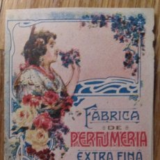 Catálogos publicitarios: J ROBILLARD FÁBRICA PERFUMERÍA EXTRAFINA VALENCIA. Lote 129255296