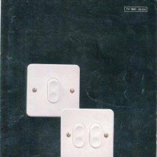 Catálogos publicitarios: BJC SISTEMA CLICK EMPOTRABLE FORMATO TRIPTICO AÑO 1978. Lote 103552359
